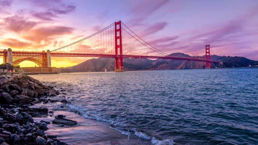 Californian bridge - Golden Gate